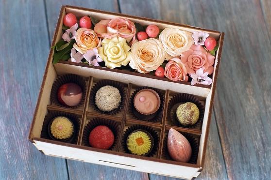 Цветы и конфеты 8