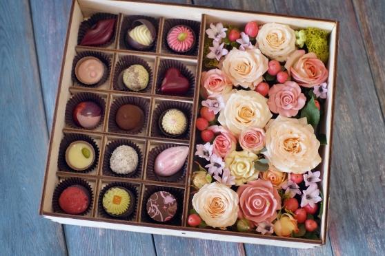 Цветы и конфеты 15