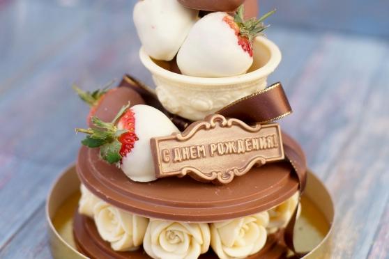 «Тортик с клубникой»