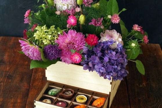 Цветы и Шоколад К-12